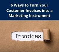 Turn invoices into a marketing tool